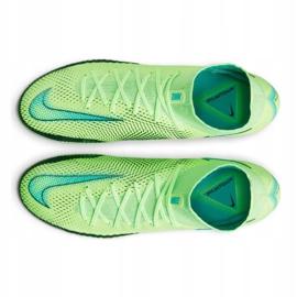 Scarpa da calcio Nike Phantom Gt Elite Dynamic Fit Fg M CW6589 303 multicolore verde 4