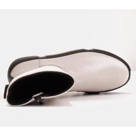 Marco Shoes Stivaletti sportivi bianchi realizzati in morbida pelle naturale bianco 7