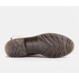 Marco Shoes Stivaletti alti, stivali legati su una suola traslucida rosso 7