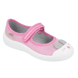 Scarpe per bambini Befado 208X045 rosa 1