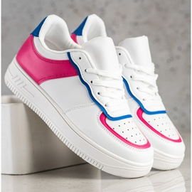 SHELOVET Scarpe sportive alla moda bianca 3