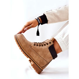 PH1 Stivali beige Crush Warm da donna marrone 7