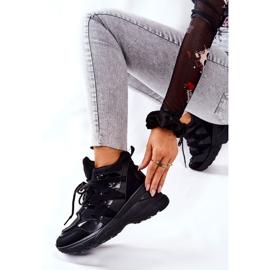 POTOCKI Scarpe sportive nere con zeppa Hesane nero 3