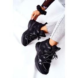 POTOCKI Scarpe sportive nere con zeppa Hesane nero 1