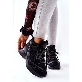 POTOCKI Scarpe sportive nere con zeppa Hesane nero 6
