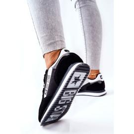 Scarpe sportive in pelle Big Star II274271 Nero bianca 1