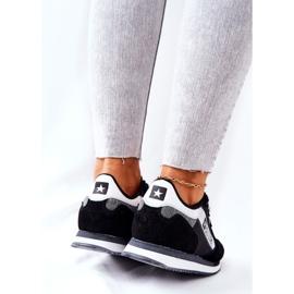 Scarpe sportive in pelle Big Star II274271 Nero bianca 3