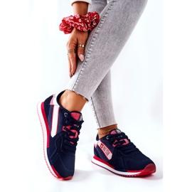 Scarpe sportive in pelle Big Star II274270 Blu navy bianca rosso 2