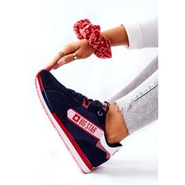 Scarpe sportive in pelle Big Star II274270 Blu navy bianca rosso 6