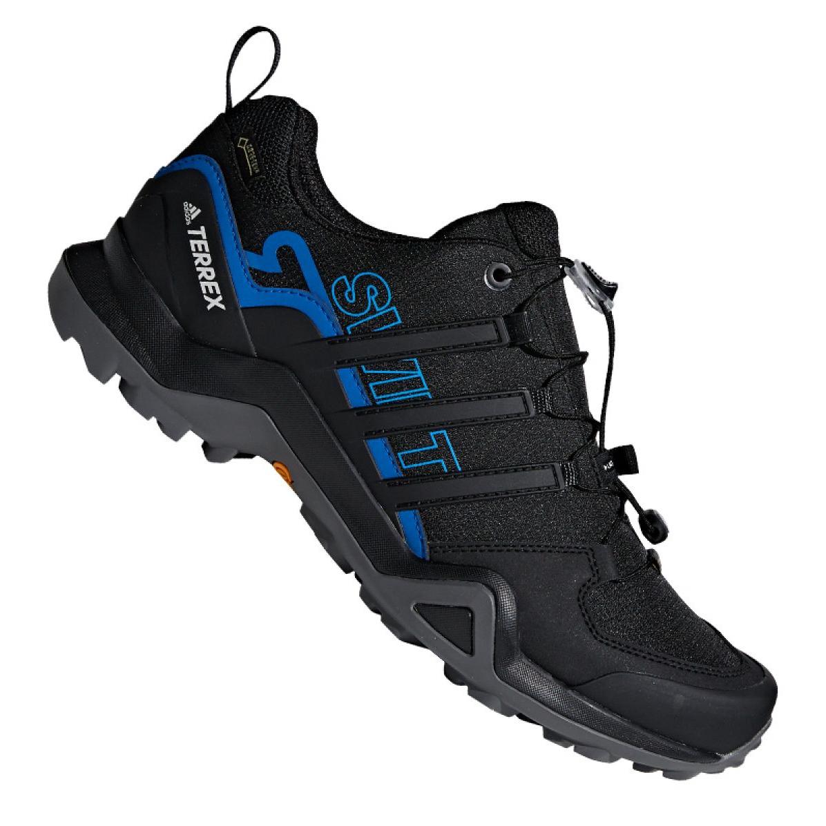 competitive price 2ce13 7c96b Dettagli su Nero Scarpe da trekking adidas Terrex Swift R2 Gtx M AC7829