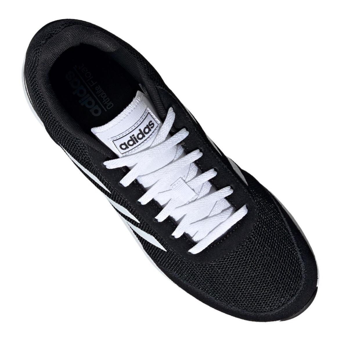 Dettagli su Nero Scarpe Adidas Run 70S M EE9752