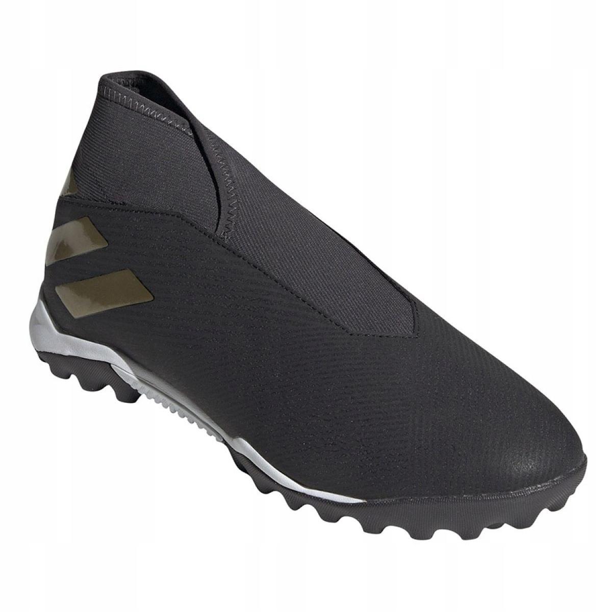 Dettagli su Scarpe da calcio Adidas Nemeziz 19.3 Ll Tf M EF0386 nero nero