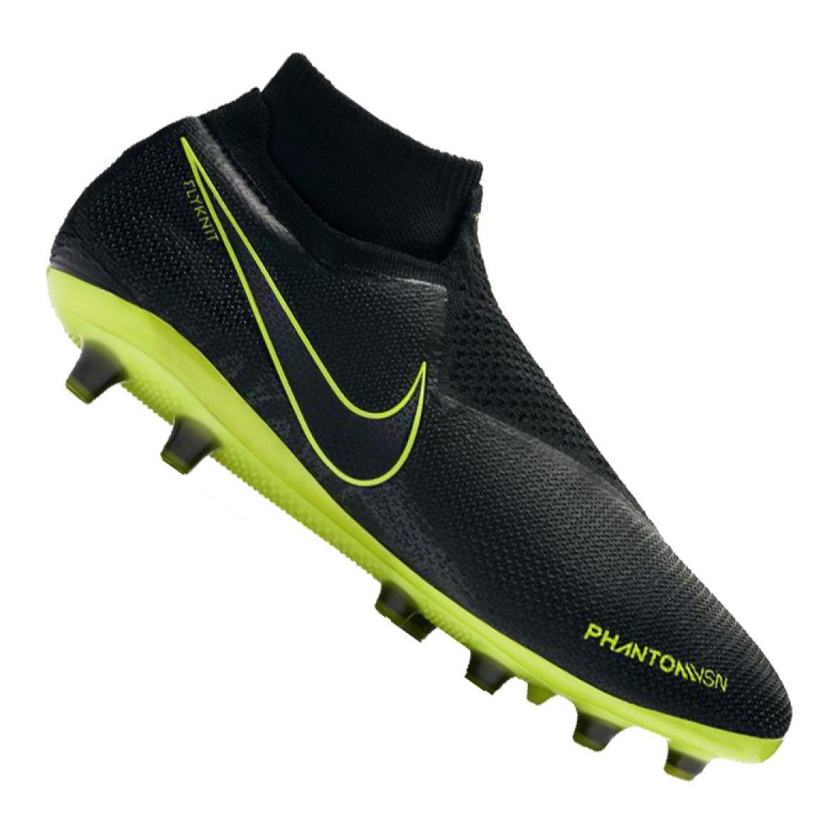 Dettagli su Scarpe da calcio Nike Phantom Vsn Elite Df AG Pro M AO3261 007 nero nero