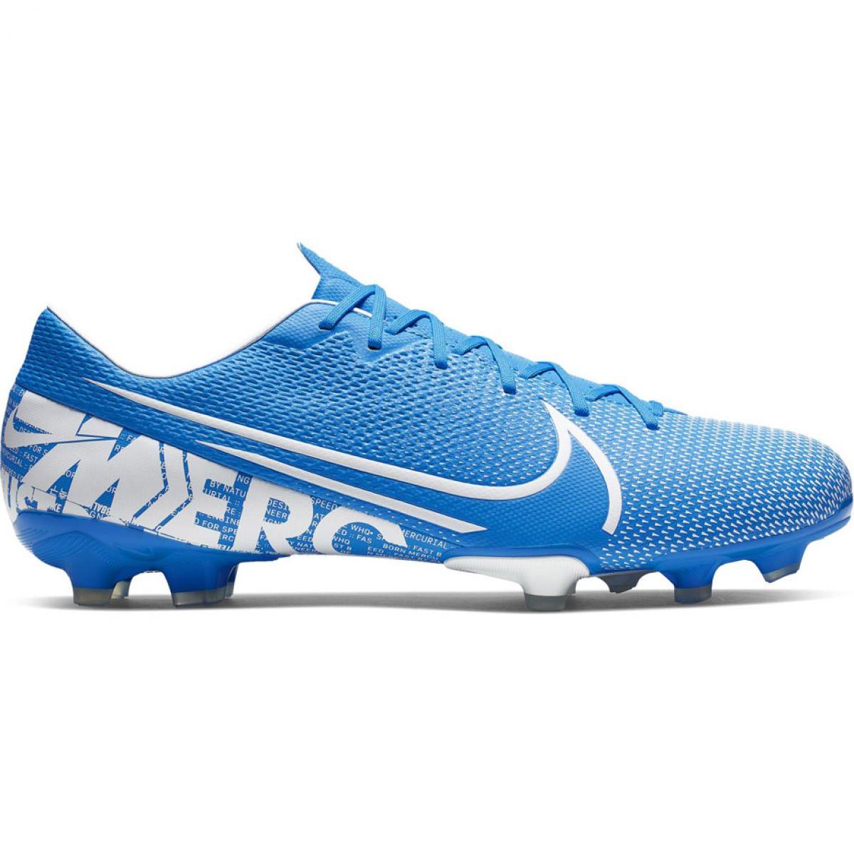Dettagli su Scarpe da calcio Nike Mercurial Vapor 13 Academy FG MG M AT5269 414 blu blu