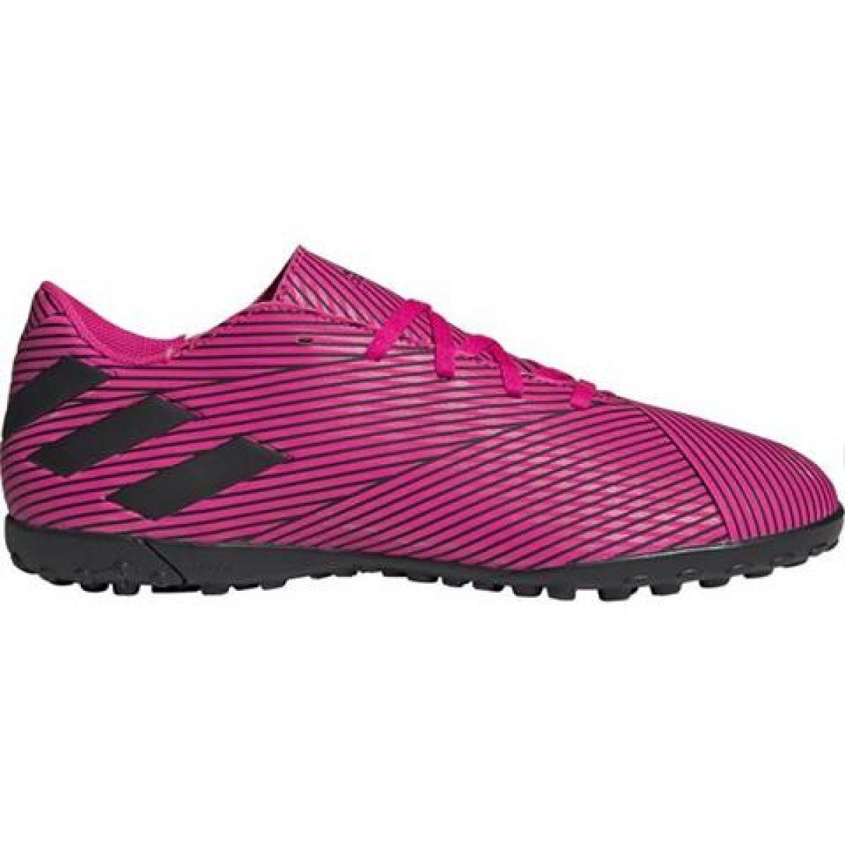 Dettagli su Scarpe da calcio Adidas Nemeziz 19.4 Tf M F34523 rosa rosa
