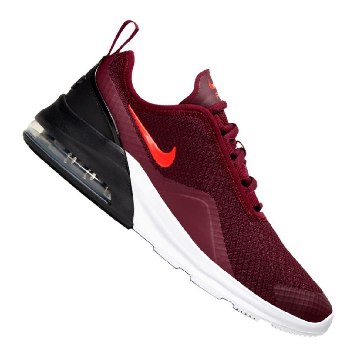 nike air max motion tutti rosso scarpe