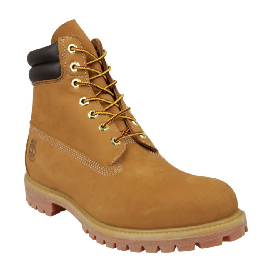 Dettagli su Scarpe invernali Timberland 6 Inch Boot M 73540 giallo