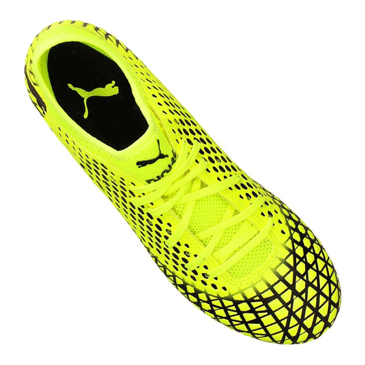 Scarpe da Calcio Junior Puma Future 5.4 TT Giallo Ultra