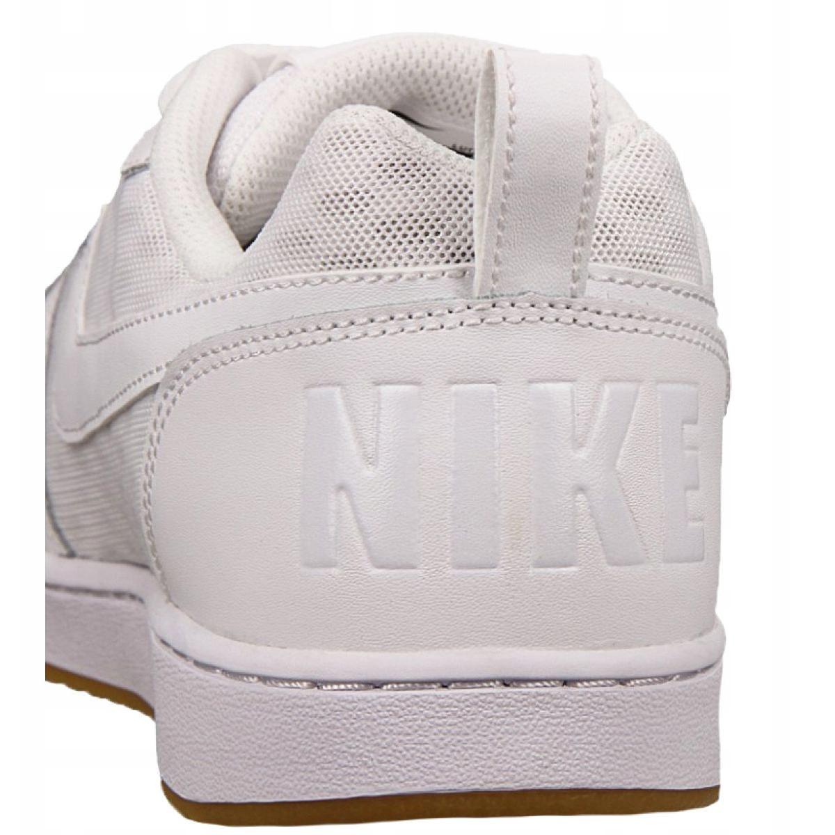 Dettagli su Scarpe Nike Court Borough Low Se M 916760 101 bianco